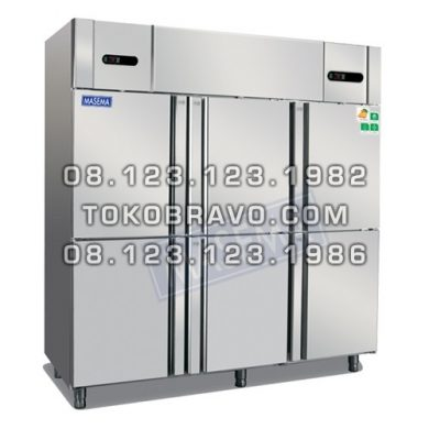 Upright Kombinasi Chiller-Freezer 6 door MS-DG6-1600 Masema