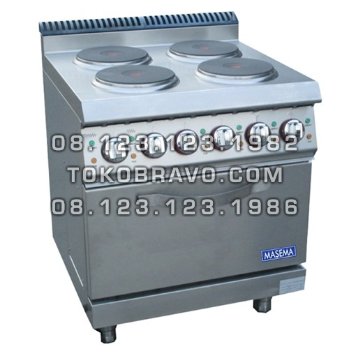 Electric 4 Hot Plate With Oven MS-E-DSJ-700 Masema