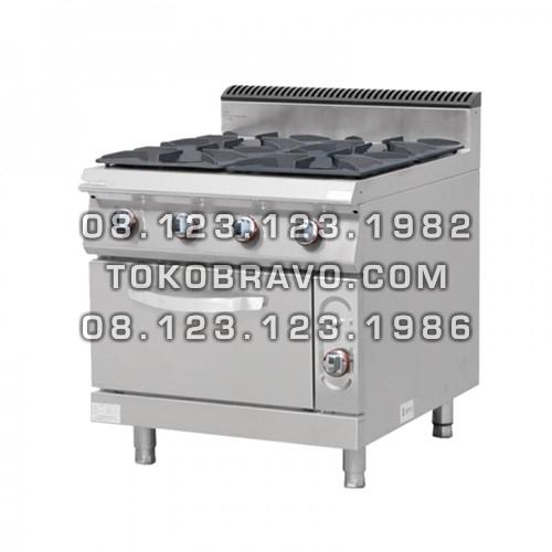 Gas Stove 4 Burner W/ Oven MS-E-RQB-700-4S Masema