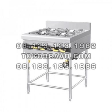 Cooking Stove Freestanding 4 Burner MS-E-RQB-700-4T Masema