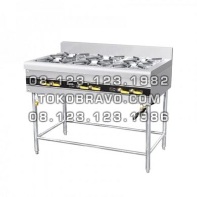 Cooking Stove Freestanding 6 Burner MS-ERQB-700-6T Masema