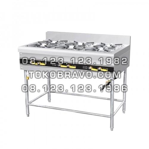 Cooking Stove Freestanding 6 Burner MS-ERQB-700-6T Masema