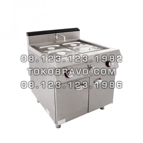 Gas Style Bain Marie Cabinet MS-E-RQT-700 Masema