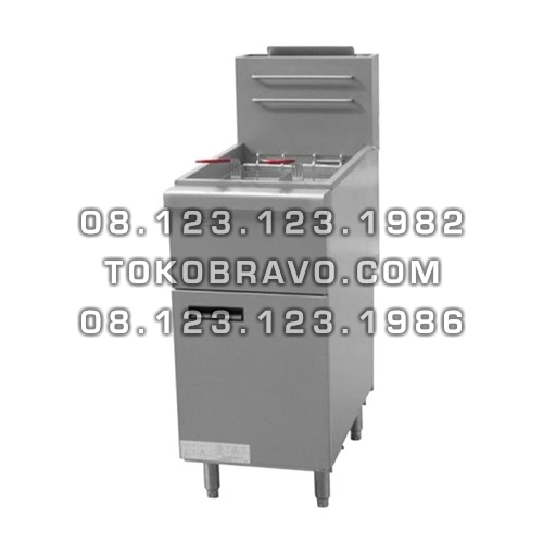 Gas Fryer Free Standing 1 Tank MS-FGF400 Masema