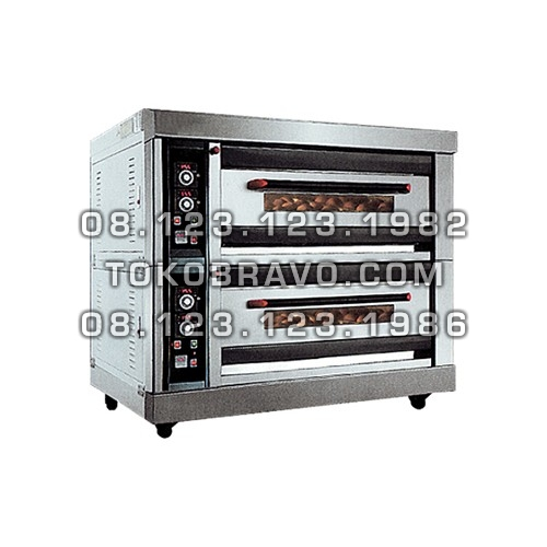 Luxurious Gas Oven 2Deck 4Tray MS-R-40H Masema