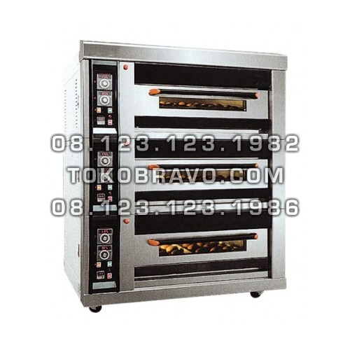 Luxurious Gas Oven 3Deck 6Tray MS-R-60H Masema