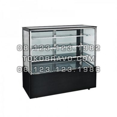 Granit Rectangular Cake Showcase 1800mm MS-RCG-180 Masema