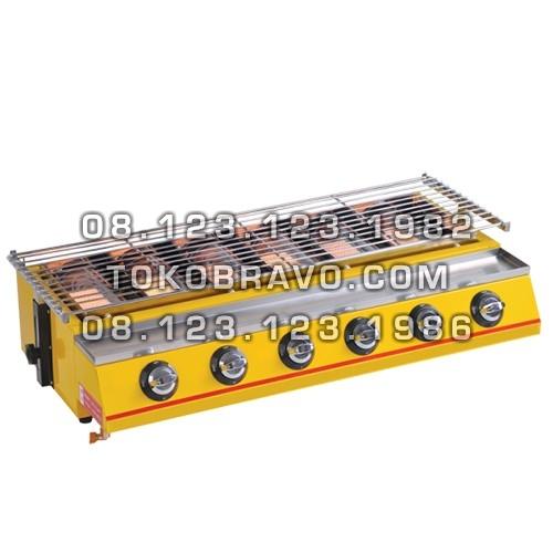 Gas Roaster 6 Burner MS-ROS-K233 Masema