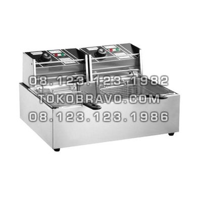 Electric Fryer Portable 2 Tank MS-SC-82 Masema
