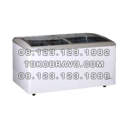 Sliding Curved Glass Freezer 338L MS-SD-338 Masema