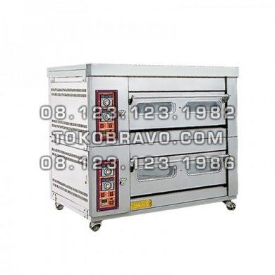 Standard Gas Oven 2Deck 4Tray MS-W-40AZ Masema