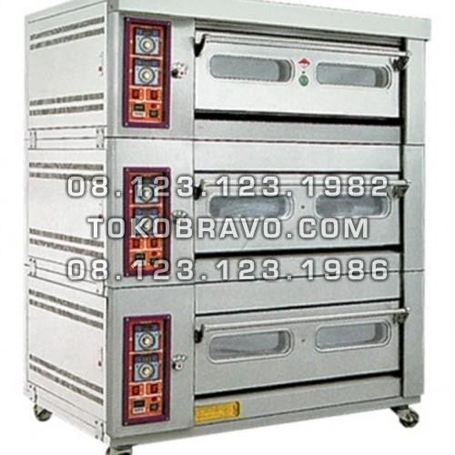 Standard Gas Oven 3Deck 6Tray MS-W-60AZ Masema
