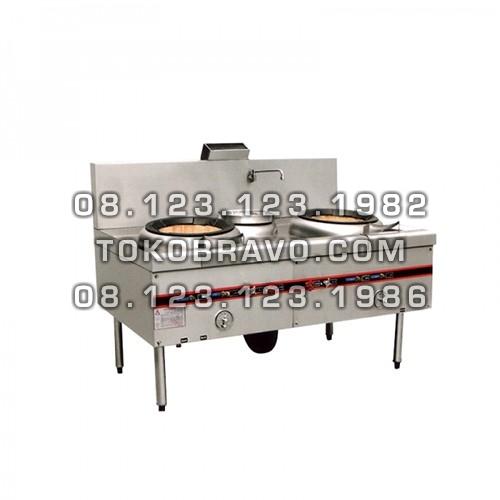 Kwali Range W/ Blower 2 Burner 1 Soup Ring MS-YDSD-001 Masema