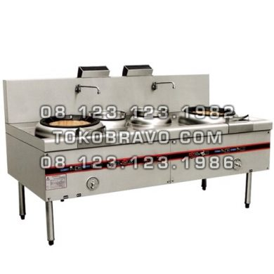 Kwali Range W/ Blower 2 Burner 2 Soup Ring MS-YDSS-001 Masema