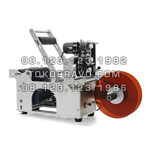 Semi Auto Round Bottle Labeling Machine MT-50 Powerpack