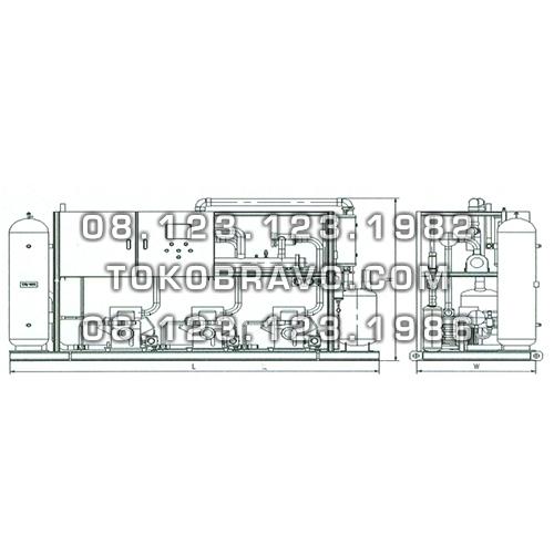Multi Compressor Chiller System Gea