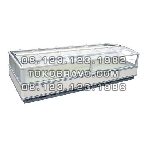 Supermarket Refrigeration Cabinet Orchid II 2000LT-250 Freezer Gea
