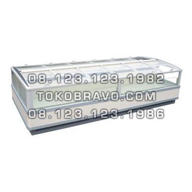 Supermarket Refrigeration Cabinet Orchid II 2000NT Head Piece Chiller Gea