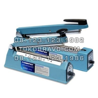 Hand Impulse Sealer Aluminium Model PCS-200A Powerpack