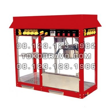 Popcorn Machine with Warming Showcase POC-POP6AD Fomac