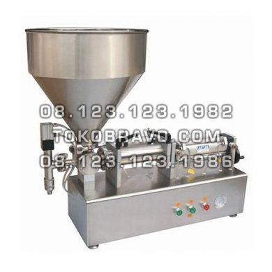 Paste Piston Filler Machine SS PPF-500T Powerpack