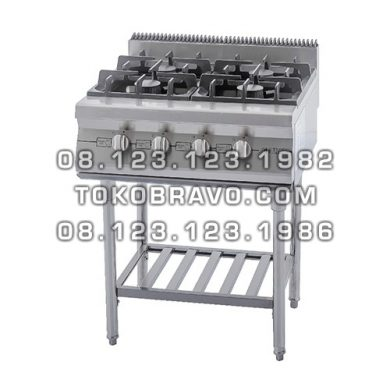 Gas Open Burner with Stand RBD-4 Getra