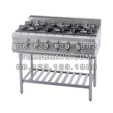 Gas Open Burner with Stand
