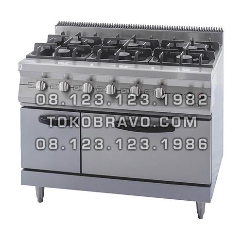 Gas Open Burner RBJ-6 Getra