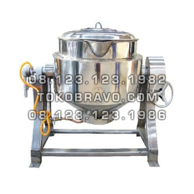 Gas Tilting Kettle RC-05E Getra