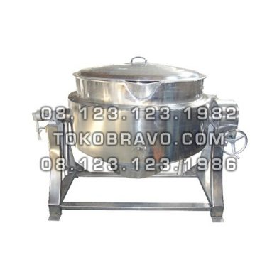 Gas Tilting Kettle RC-3E Getra