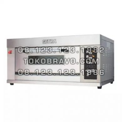 Gas Pizza Deck Oven RFL-12PSS Getra