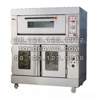 Combi Deck Oven Proofer RFL-12SS+FJ10 Getra