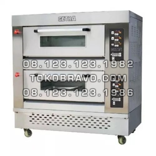 Gas Pizza Deck Oven RFL-24PSS Getra