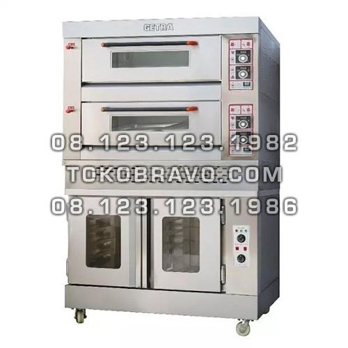 Combi Deck Oven Proofer RFL-24SS+FJ10 Getra