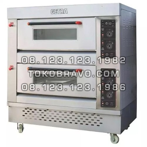 Gas Baking Oven RFL-24SS Getra