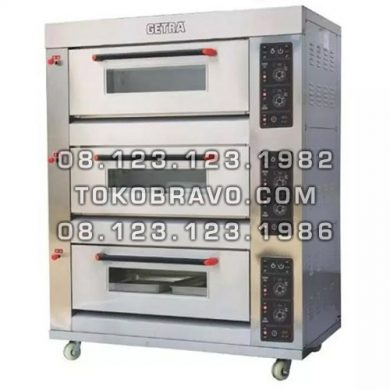 Gas Baking Oven RFL-36SS Getra