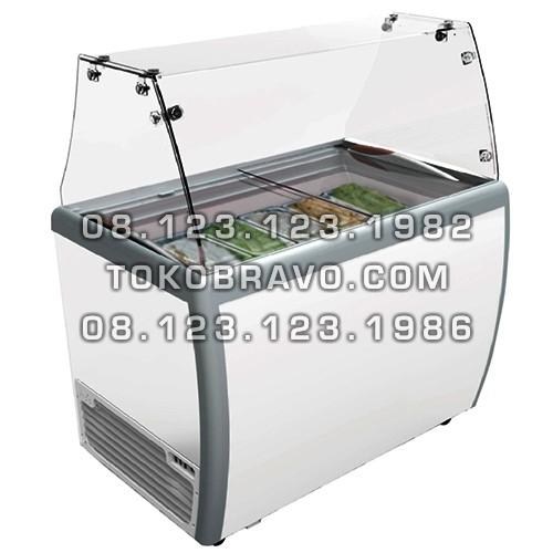 Gelato Showcase Static Cooling RI-260AUG Gea