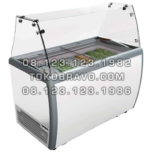 Gelato Showcase Static Cooling Round Bin RI-360AUG Gea