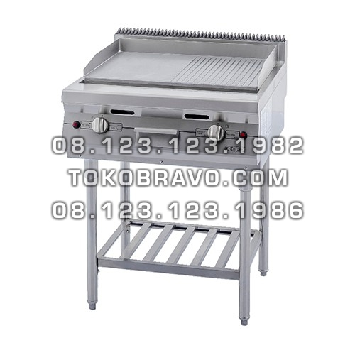 Gas Open Griddle and Broiler with Stand RPD-4B Getra