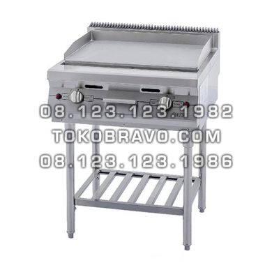 Gas Open Griddle and Broiler with Stand RPD-4 Getra