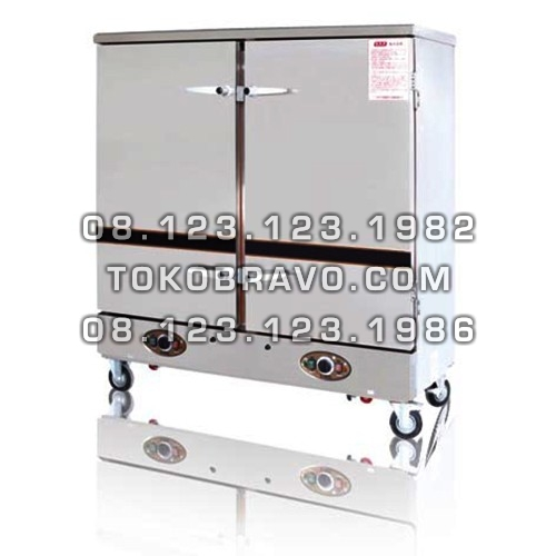 Gas Cooker and Rice Steaming Cart RSC-GZF24 Fomac