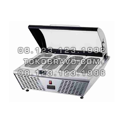 Gelato Showcase Static Cooling RTD-67L Gea