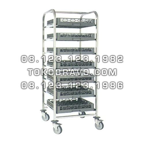 Stainless Steel Gastronom / Bakery Trolley RTDB01 Getra