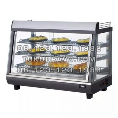 Food Warmer Front and Rear Sliding Door RTR-136L Getra