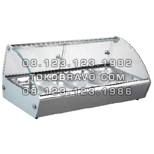 Bain Marie Counter Food Warmer RTR-4 Getra
