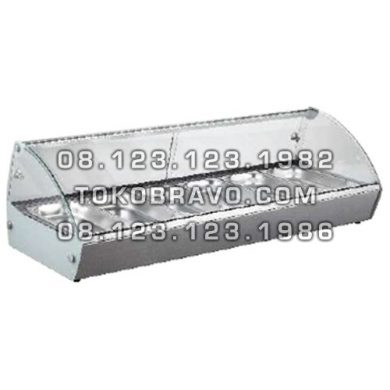 Bain Marie Counter Food Warmer RTR-6 Getra