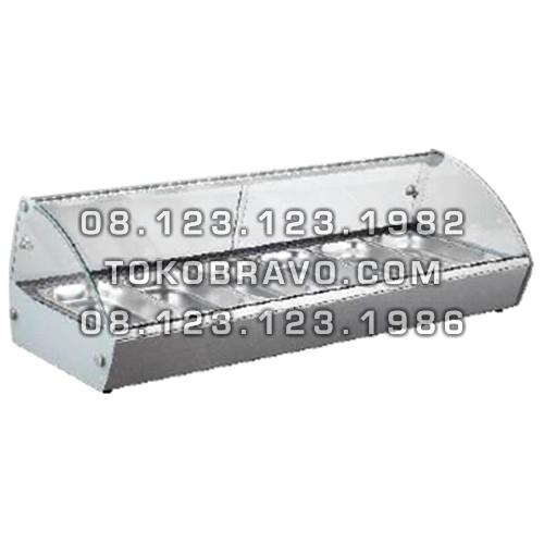 Bain Marie Counter Food Warmer RTR-6 Getra