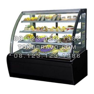 Curved Glass Cake Showcase S-950A Gea