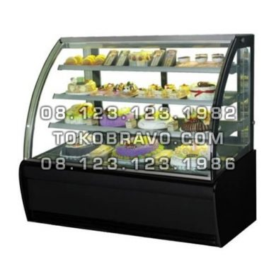 Curved Glass Cake Showcase S-960A Gea