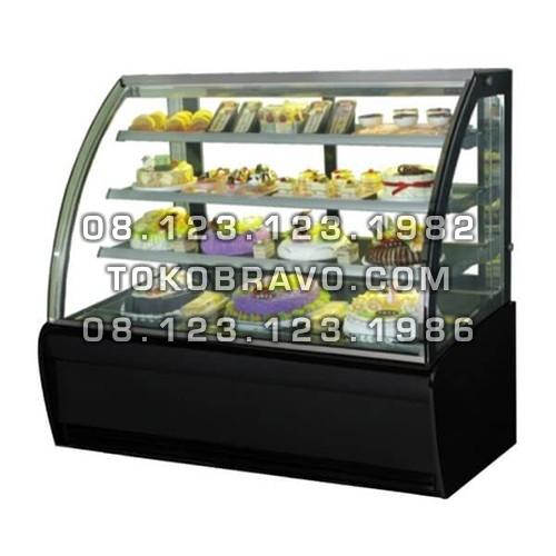 Curved Glass Cake Showcase S-960A Gea